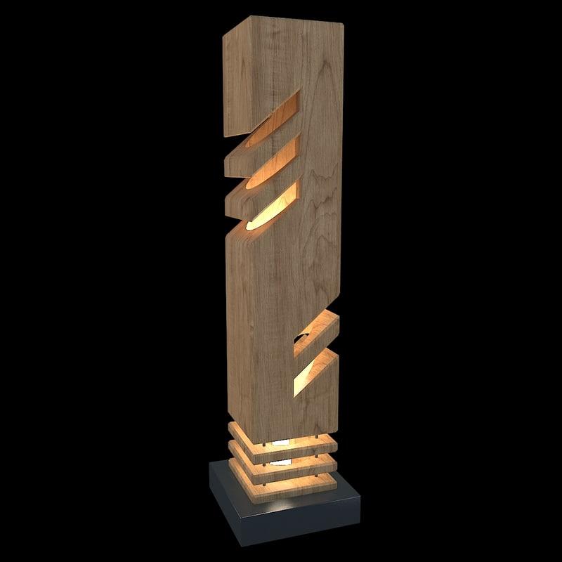 decorative table light model