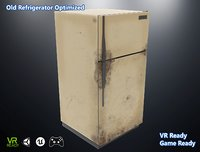 3D optimized old refrigerator
