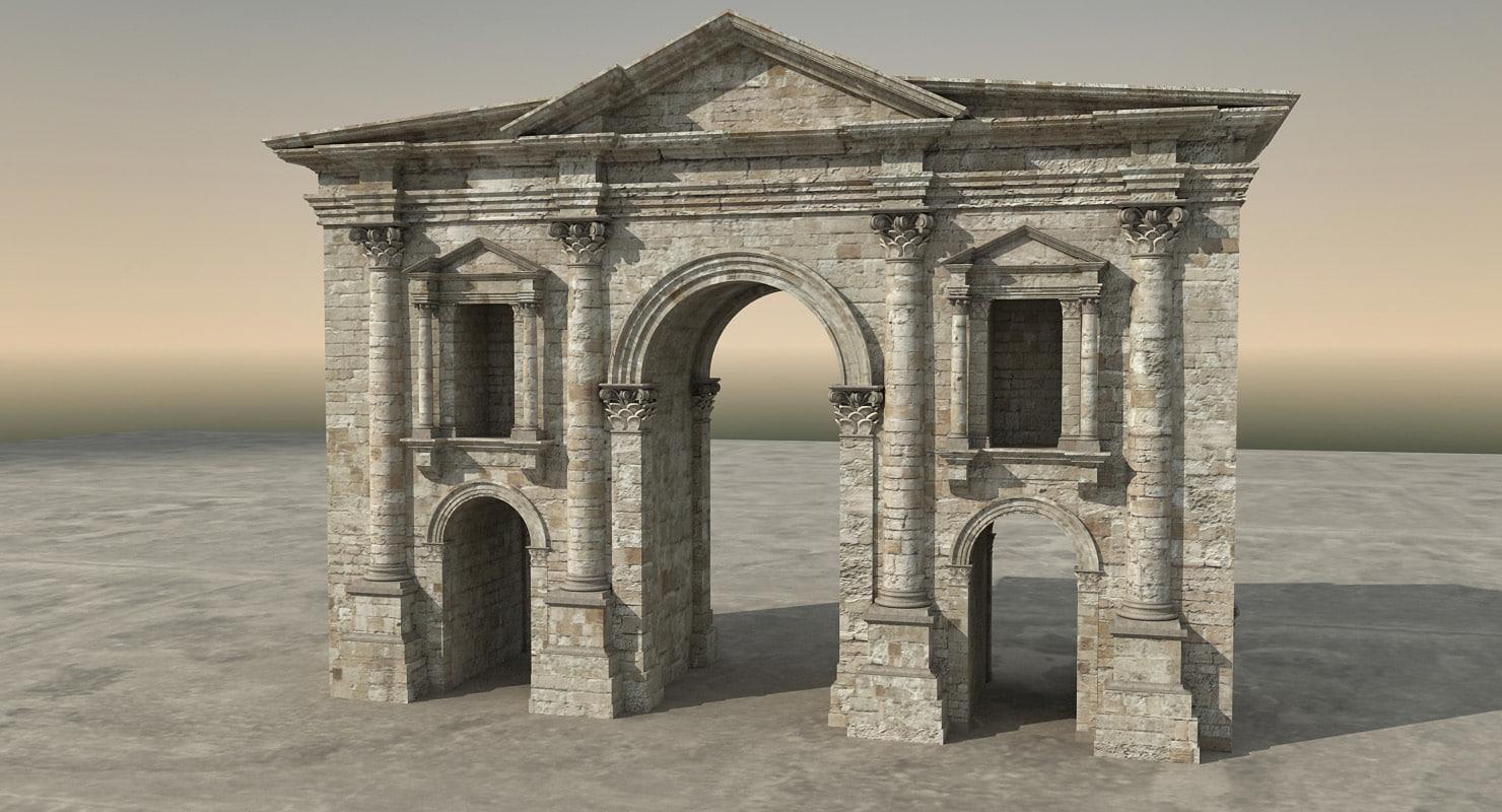 3D arch hadrian