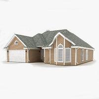 cottage siding 3d max