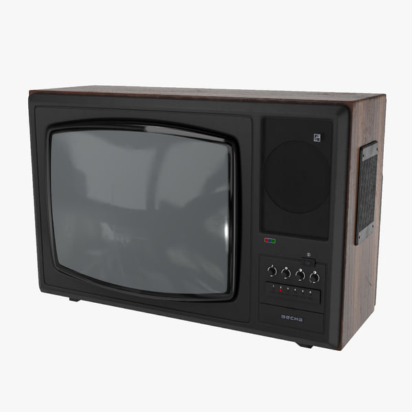ussr tv vesna c-276 3D model