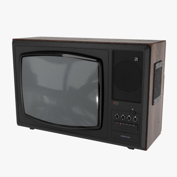 ussr tv vesna c-276 3D model