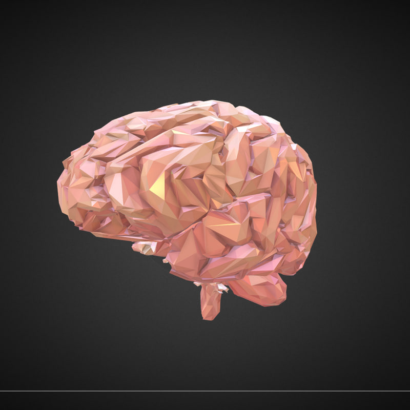 art brain 3D model