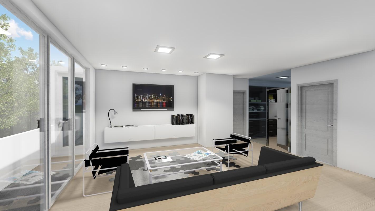 3D floor plan 2d layout