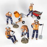 workman 3D