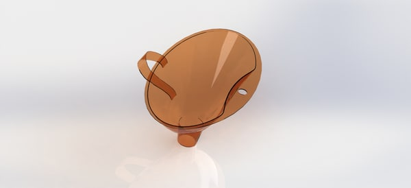 3D model funnel