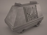 3D model star wars mouse droid