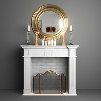 Decorative Fireplace Set