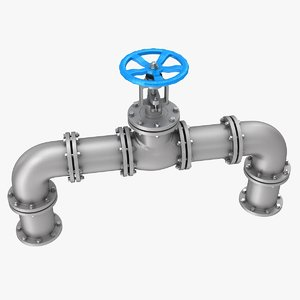 gate valve pipes model