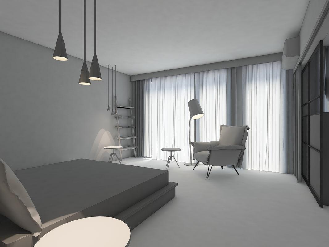 bedroom wardrobe model