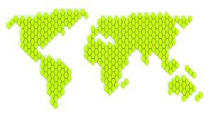 3D hexagon worlds