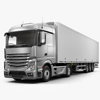 generic truck 3D model