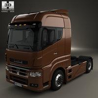 3D kamaz 5490 s5 model
