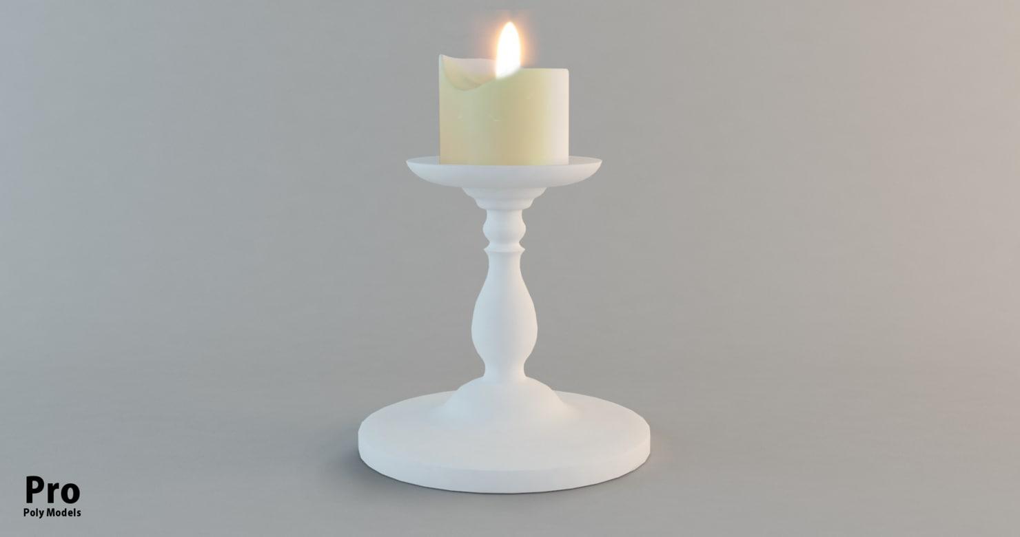 candle holder model