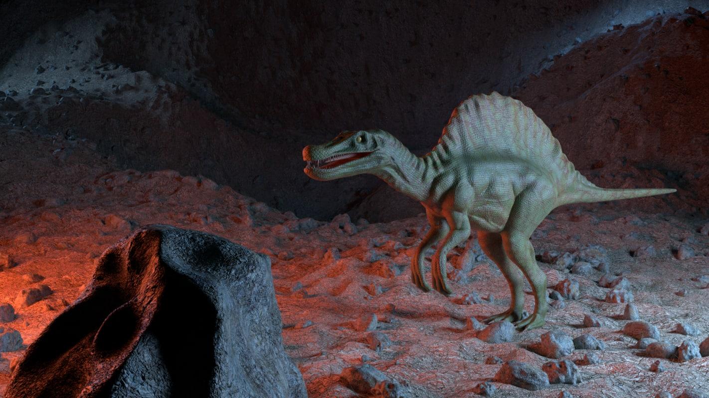 spinosaurus dinosaur-like creature dinosaur 3D