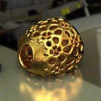 jewelry charm pa v23f 3D model