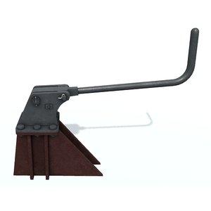 3D model stopper lever