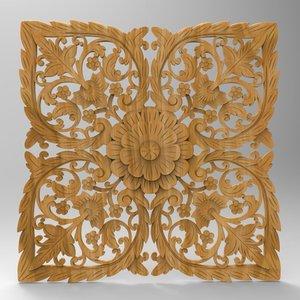 panel stl cnc 3D