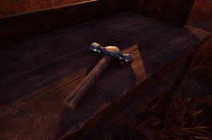 hammer vr hero 3D model