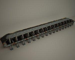 3D conveyor model