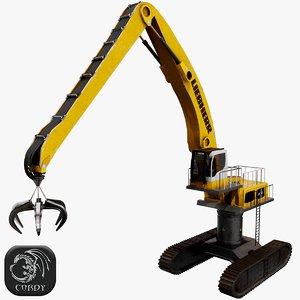 liebherr lh110 crane model