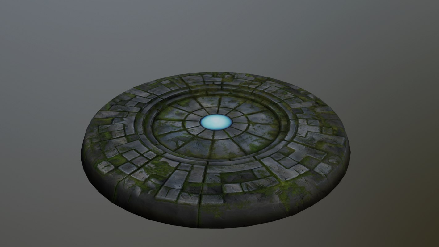 3D portal ready cartoon