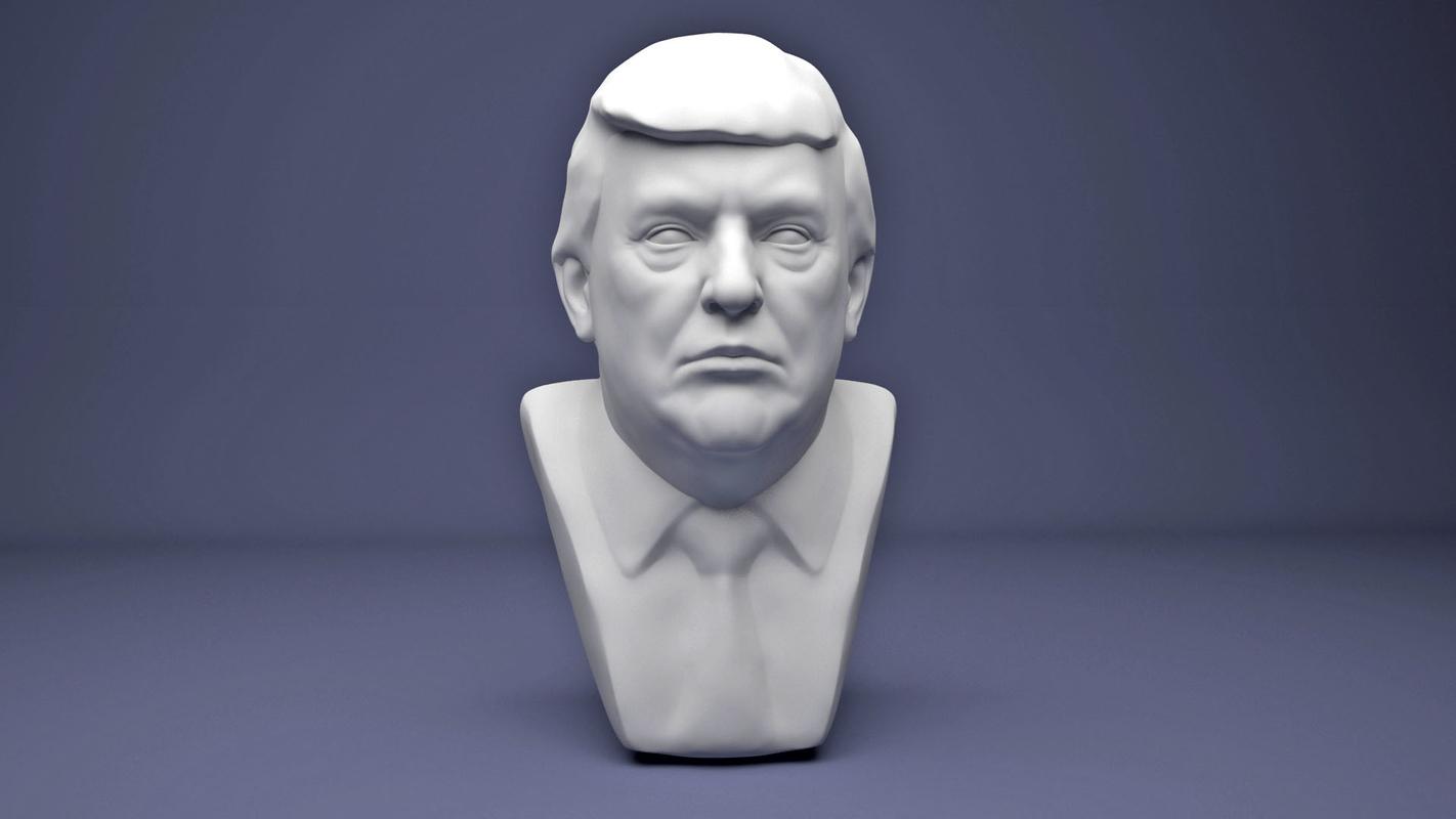 3D donald trump model