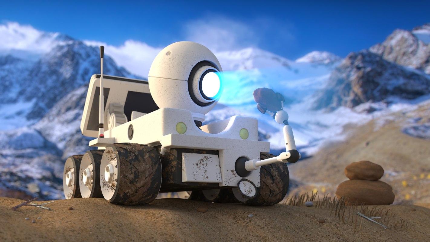 robot roverx rover 3D model