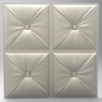 (699) Panel - 3d STL model for CNC