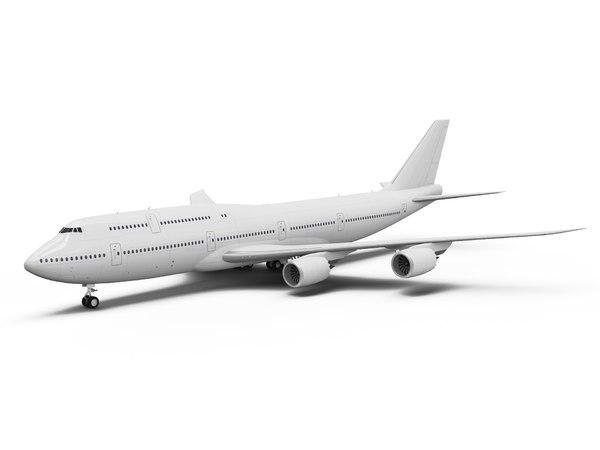 boeing 747-8 3D