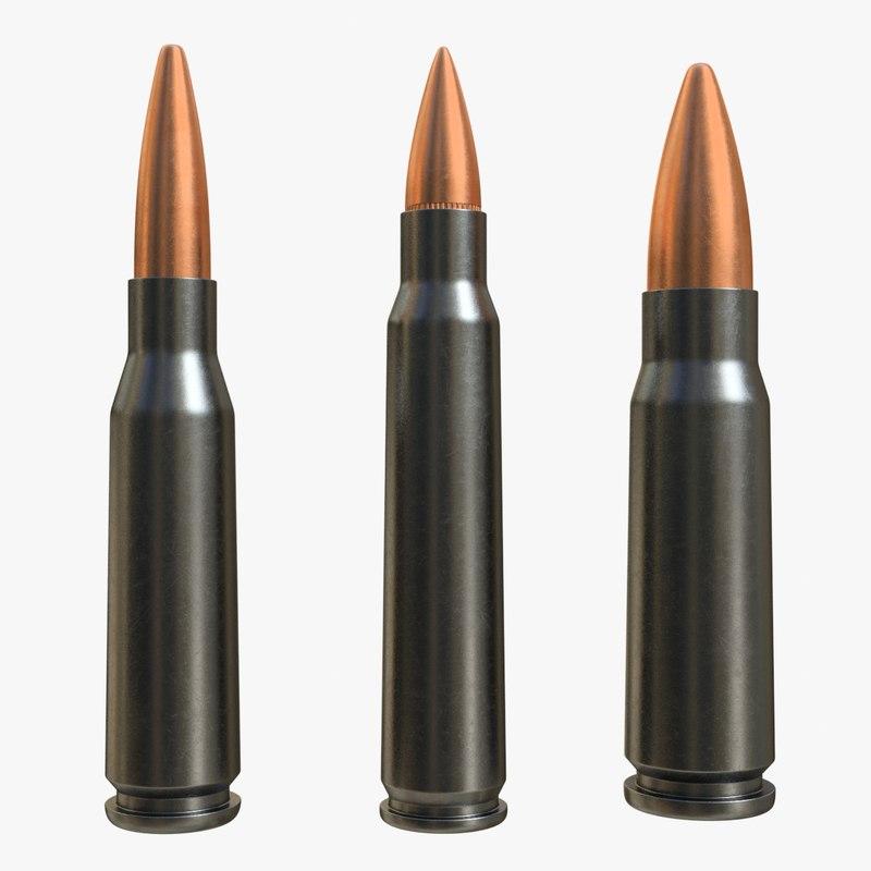cartridge 5 45x39 56x45 3D
