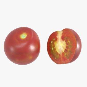 3D cherry tomato model