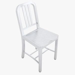 prison chair 3D model