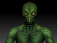 3D classic reptilian