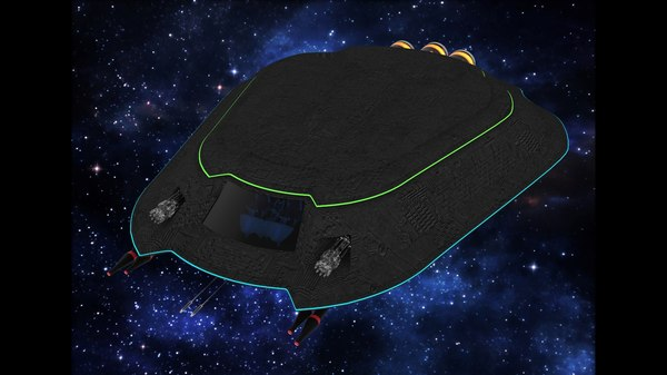 sci-fi nexus spacefighter model