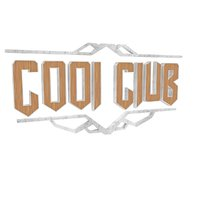 cool club logotype 3D model