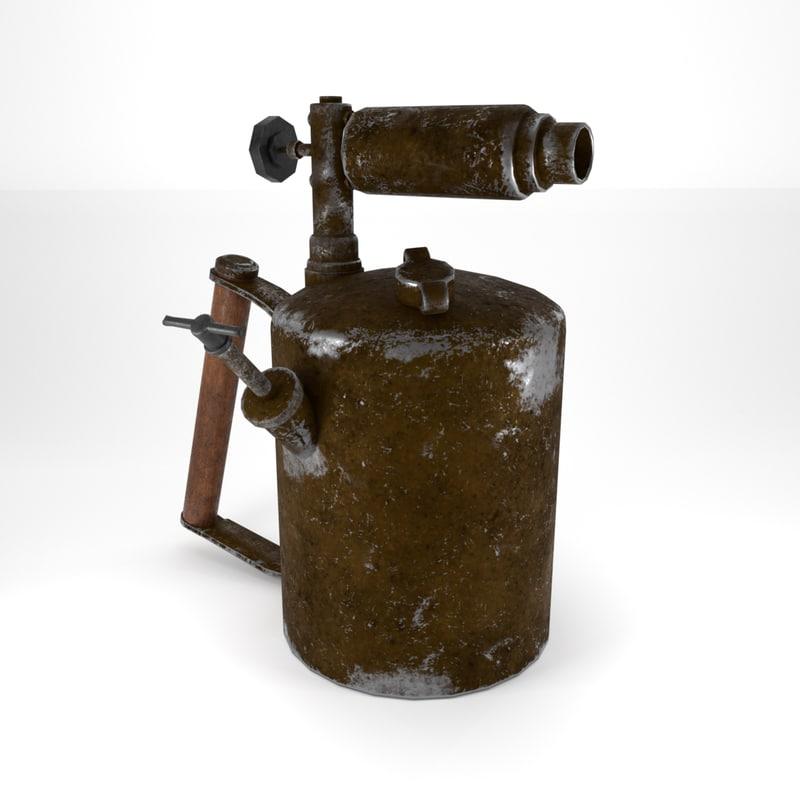 3D metall blender