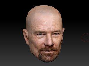 head heisenberg 3D model