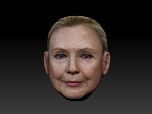 head hillary model