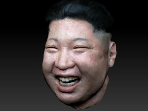 3D kim head model