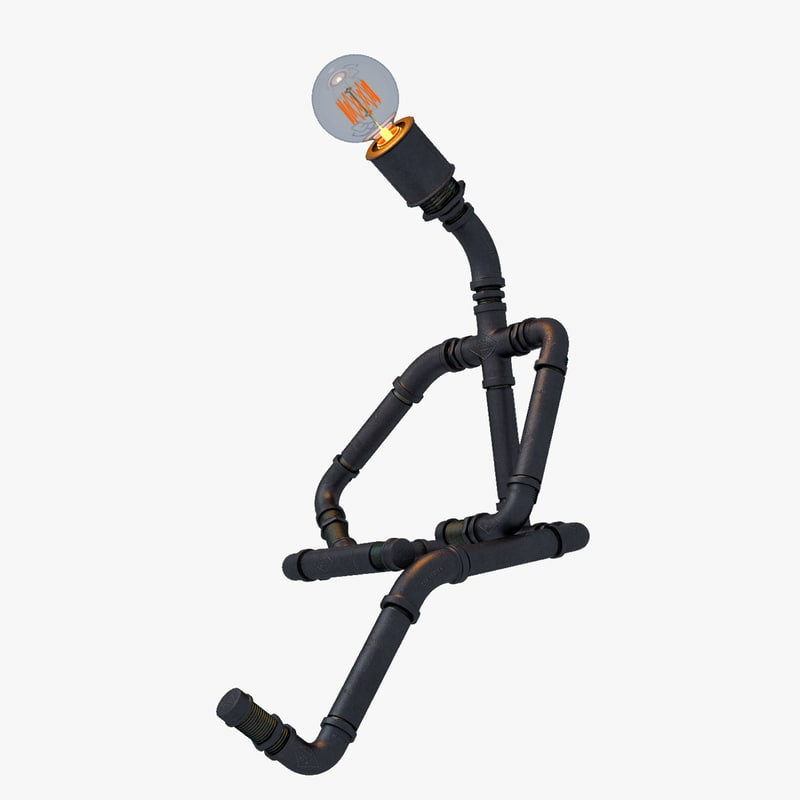 pipe lamp thinking model