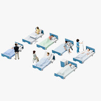Medical People 06(Bed)