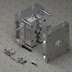 3D mold furniture press model
