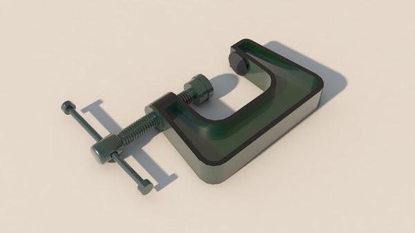 3D c clamp