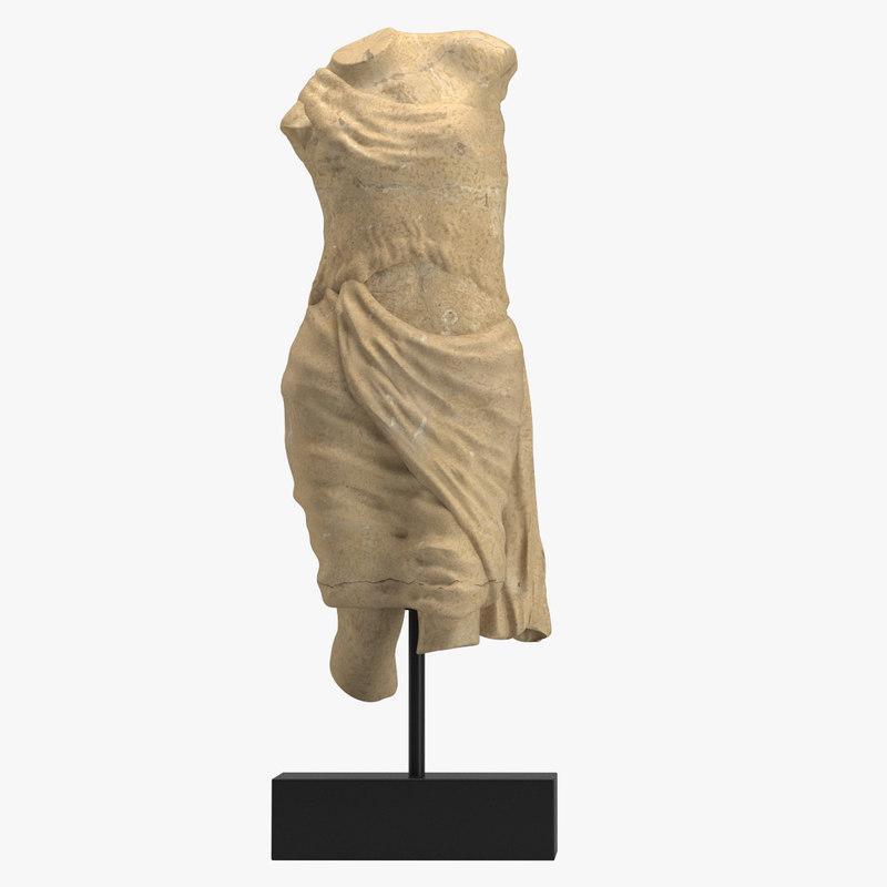 sculpture 37 ancient greek 3D model