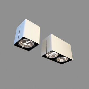 3D light halogen lamp
