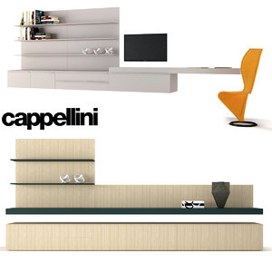 3D model cabinets chair s-chair cappellini