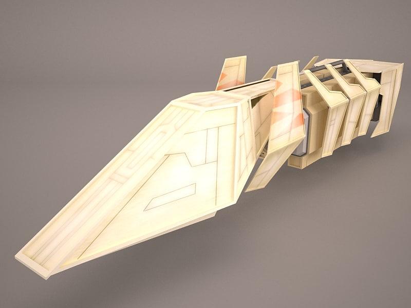 3D model cargo star war