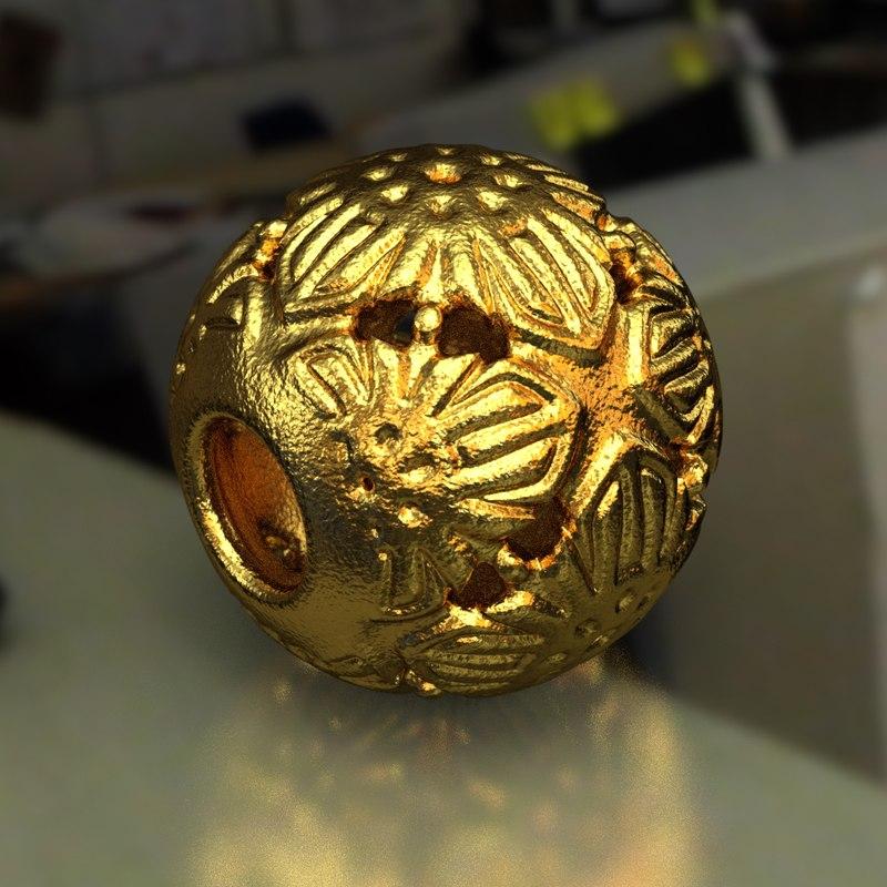 3D jewelry v1 ball pa