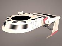 3D model star wars lambda t4a